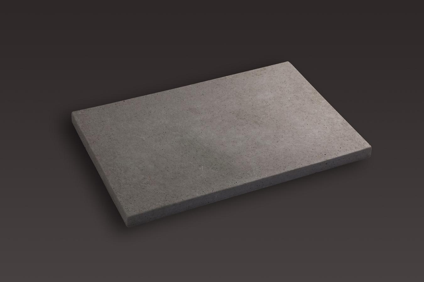 Dalle rectangulaire lisse 60x40x3 bmop - Pas japonais rectangulaire ...