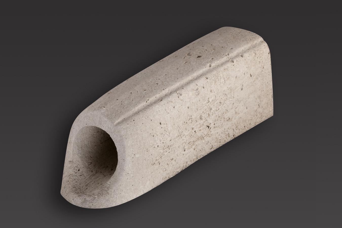 Gargouille ronde diam 80 lg44 bmop - Rehausse beton ronde ...