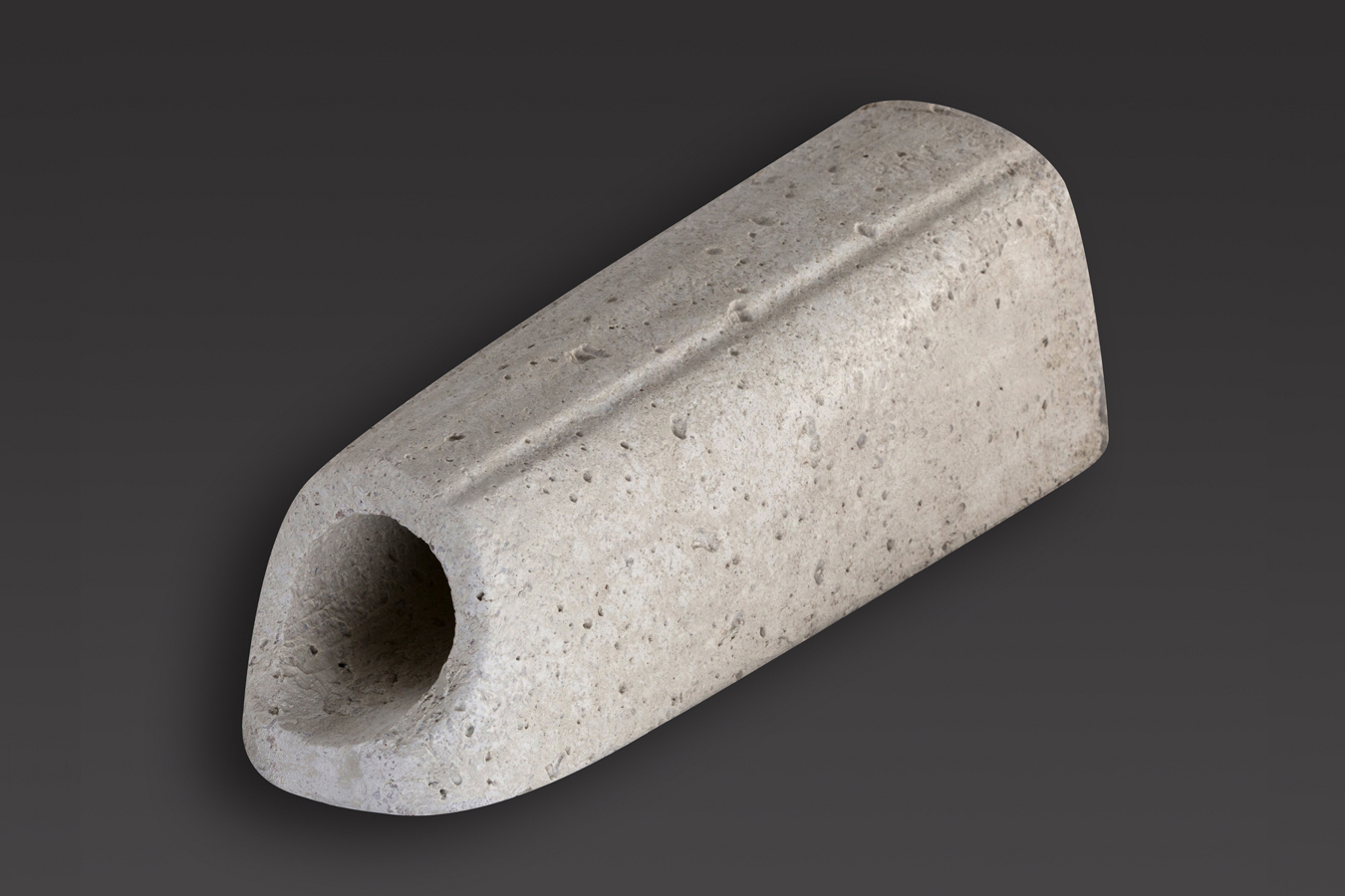 Gargouille ronde diam 50 lg29 bmop - Rehausse beton ronde ...